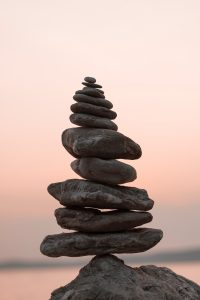 stack of rocks signifying medation