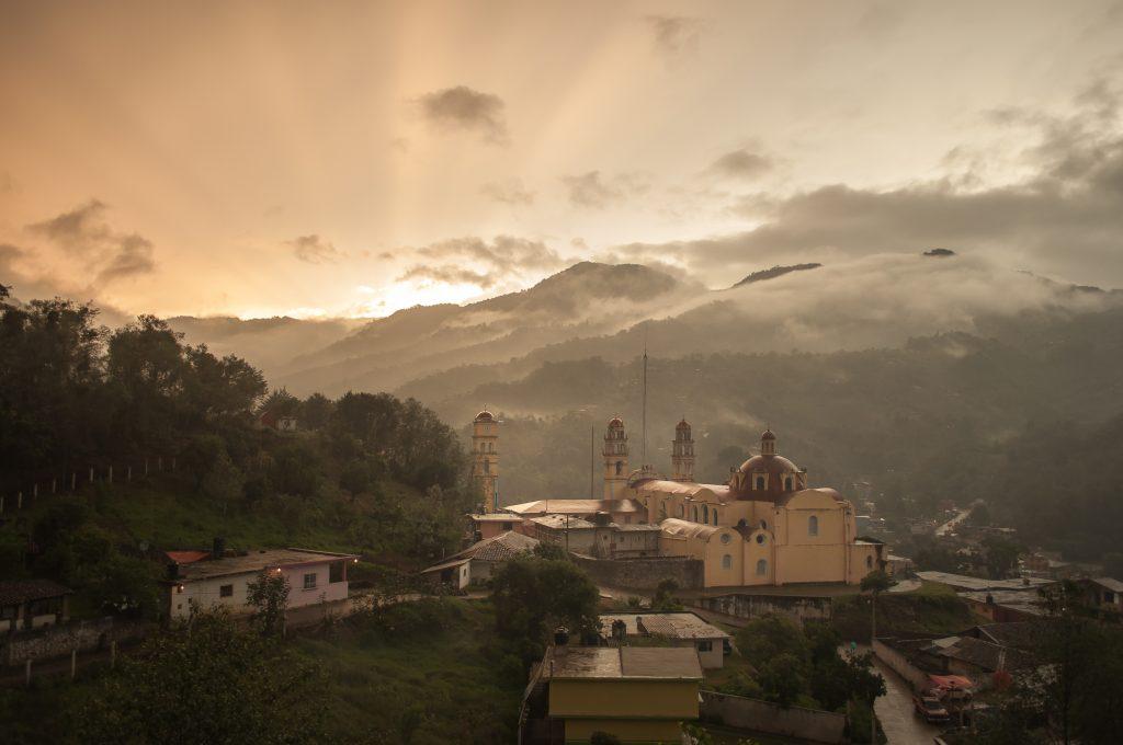 best hikes in mexico includes Church in the Sierra Norte de Puebla, Mexico.