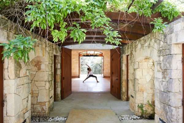 Yoga Pose Miraval Austin