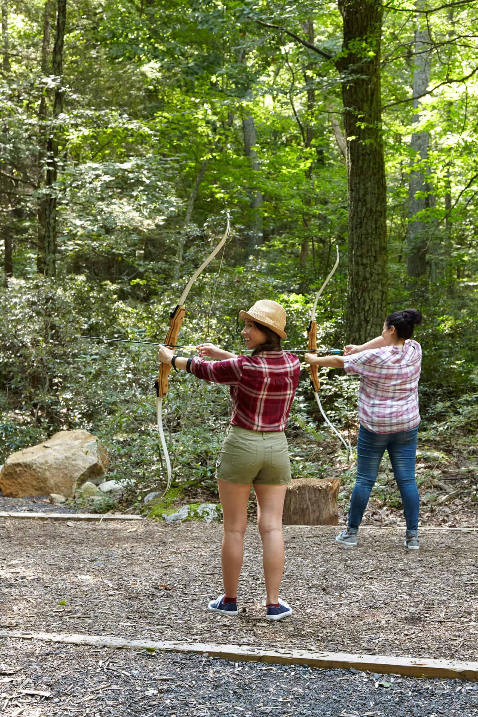 mohonk mountain house archery - best wellness resorts and retreats in new york