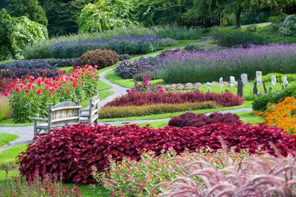 mohonk mountain house gardens - best wellness resorts and retreats in new york