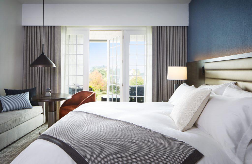 King room at Miraval Berkshires