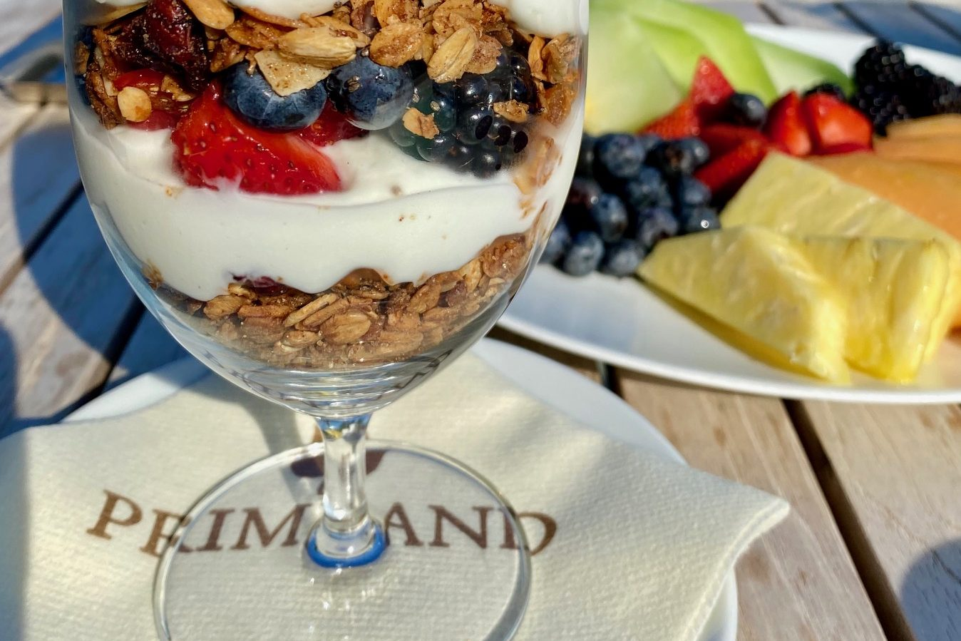 Dining at the Primland Resort