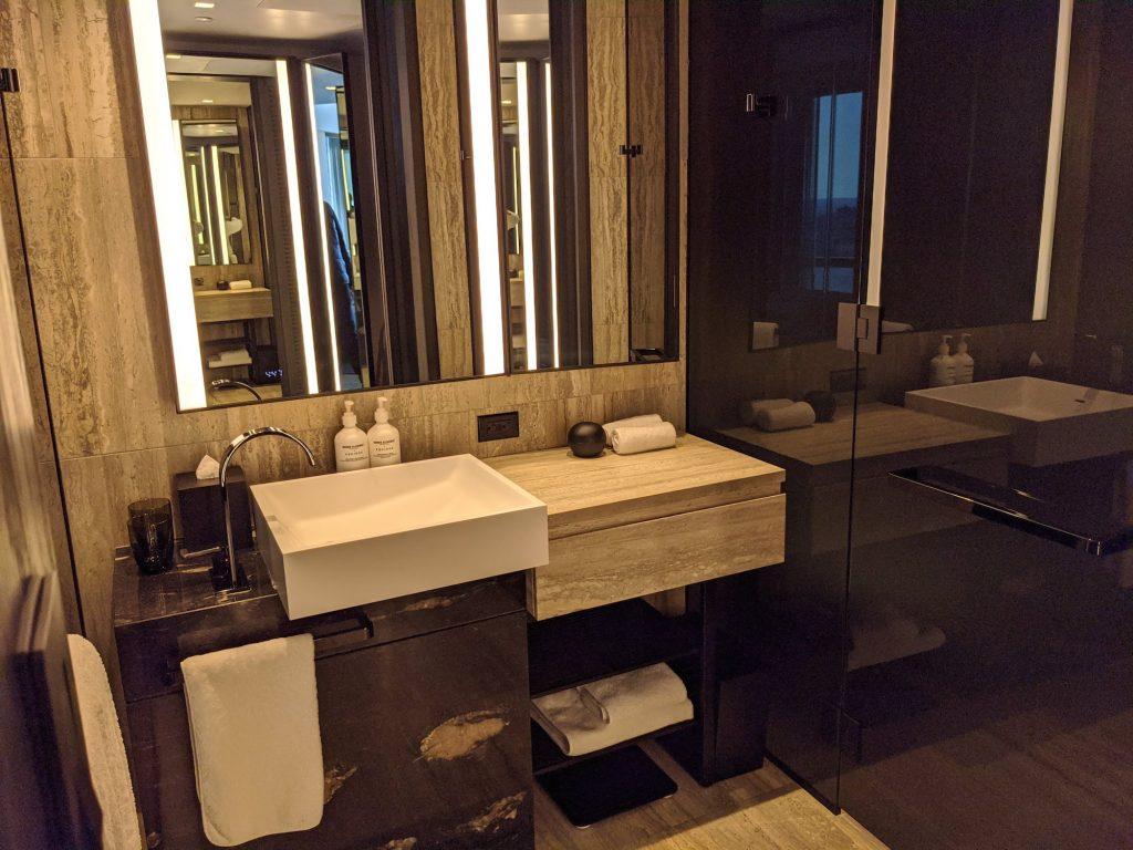 Equinox Hudson Yards NYC Bathroom
