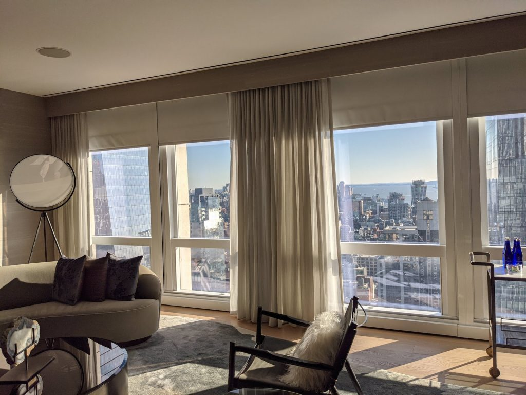 Equinox Hudson Yards NYC Suite