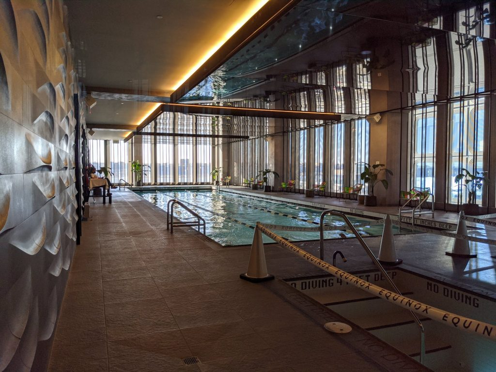 Equinox Hudson Yards NYC Pool