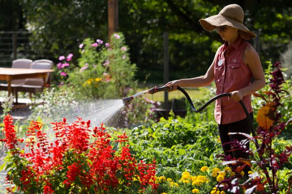 Tending the Garden at The Lodge at Woodloch