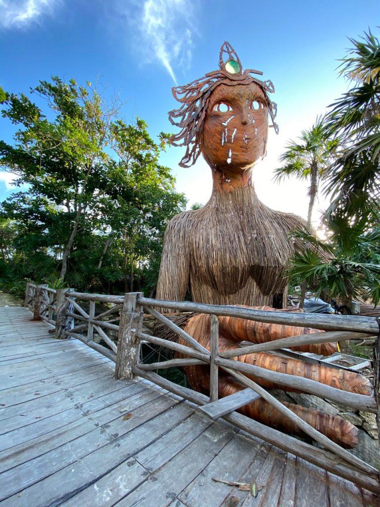 palmaia statue
