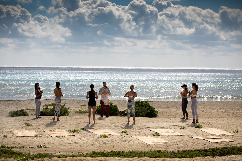 Palmaia Yoga on Beach
