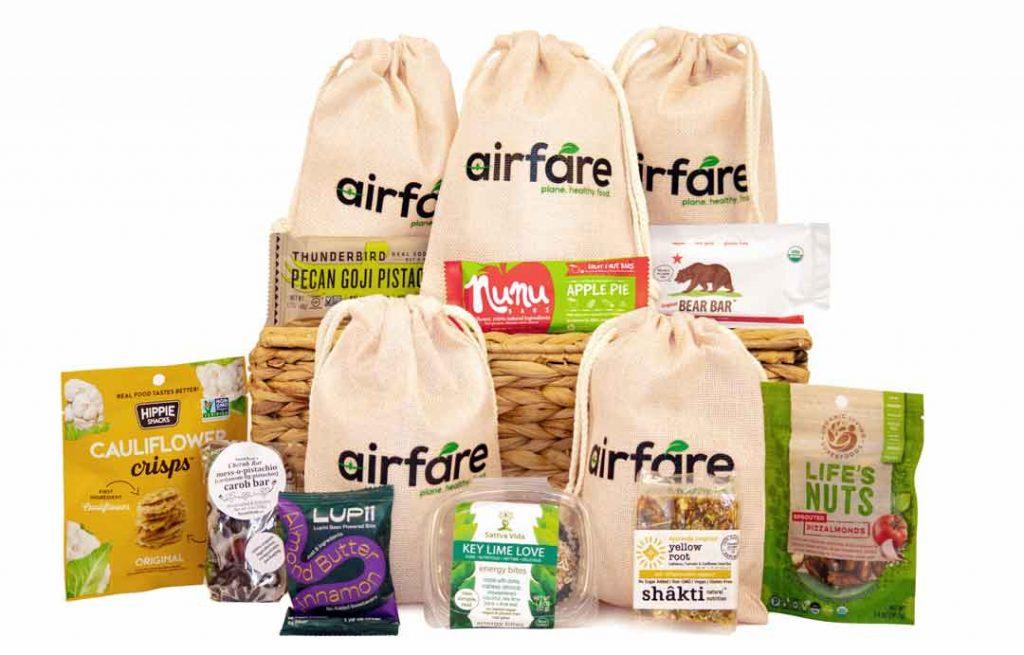 airfare snacks