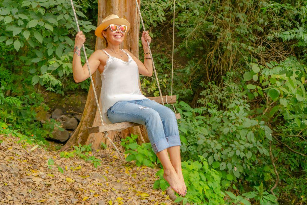 The Retreat Costa Rica Woman on Swing