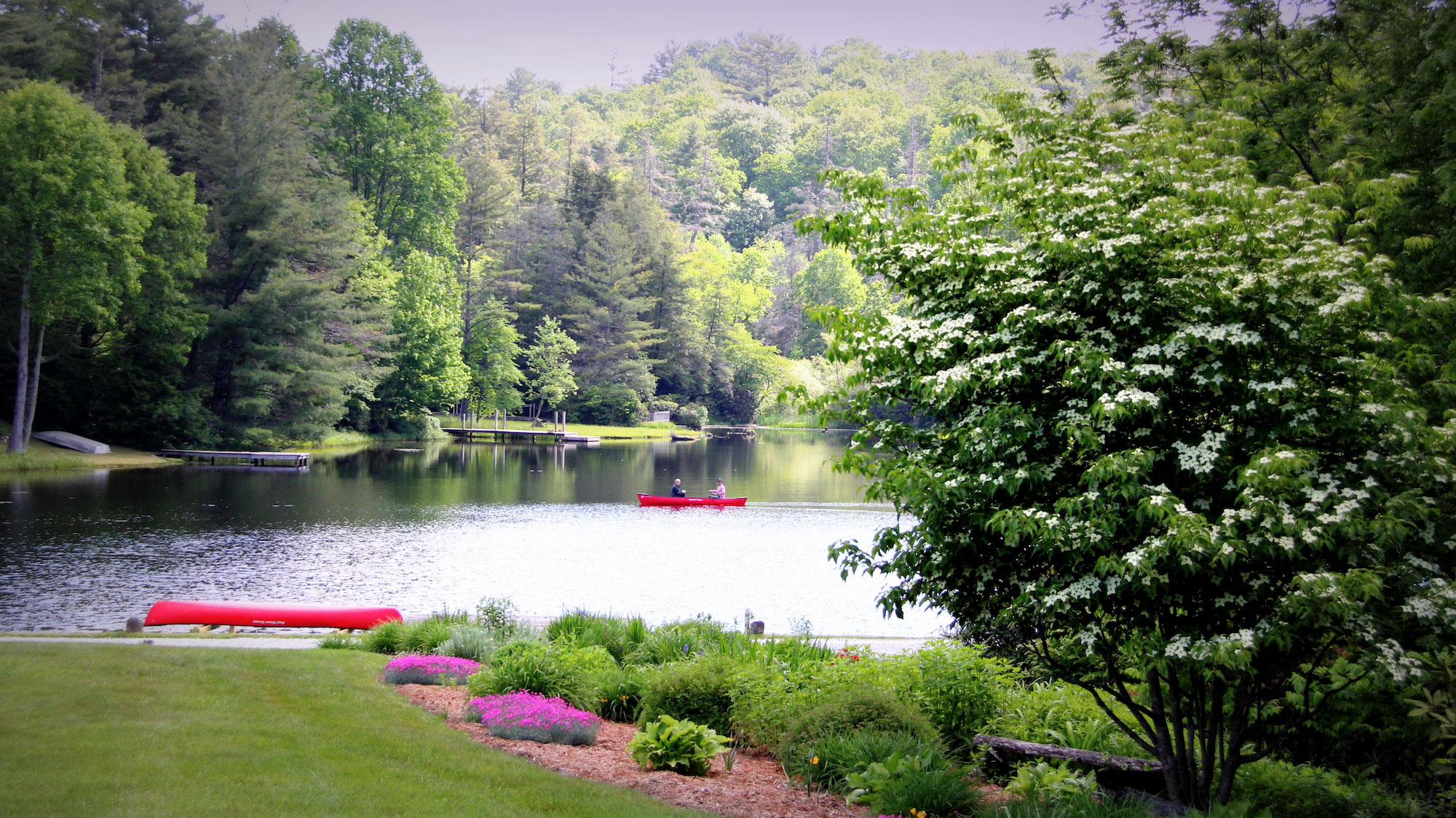 Half-Mile Farm Lake