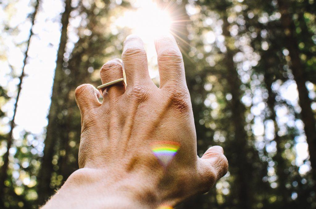 healing hand sunlight