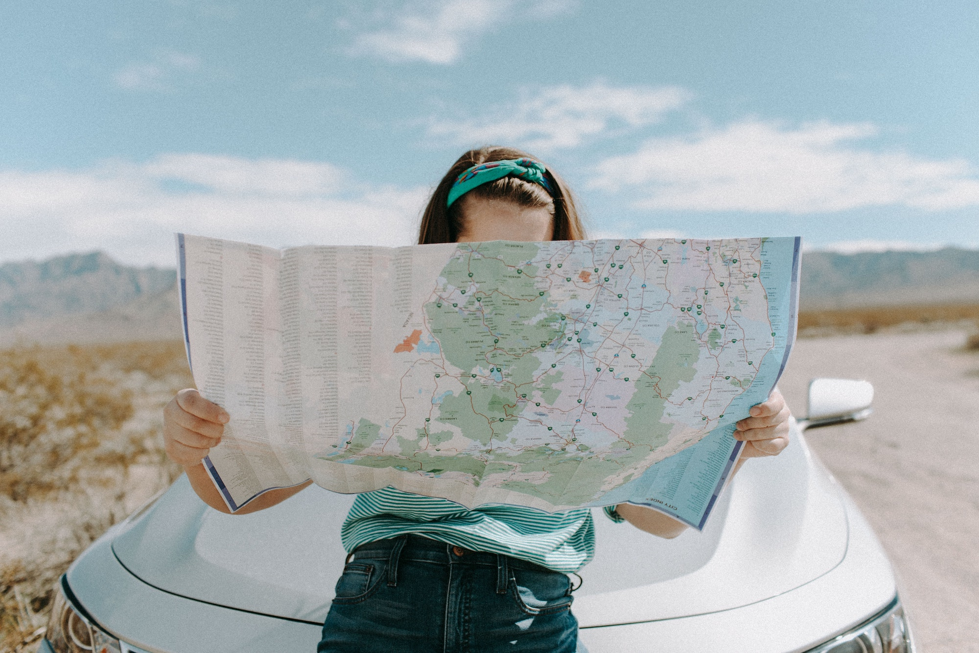 road tripping map