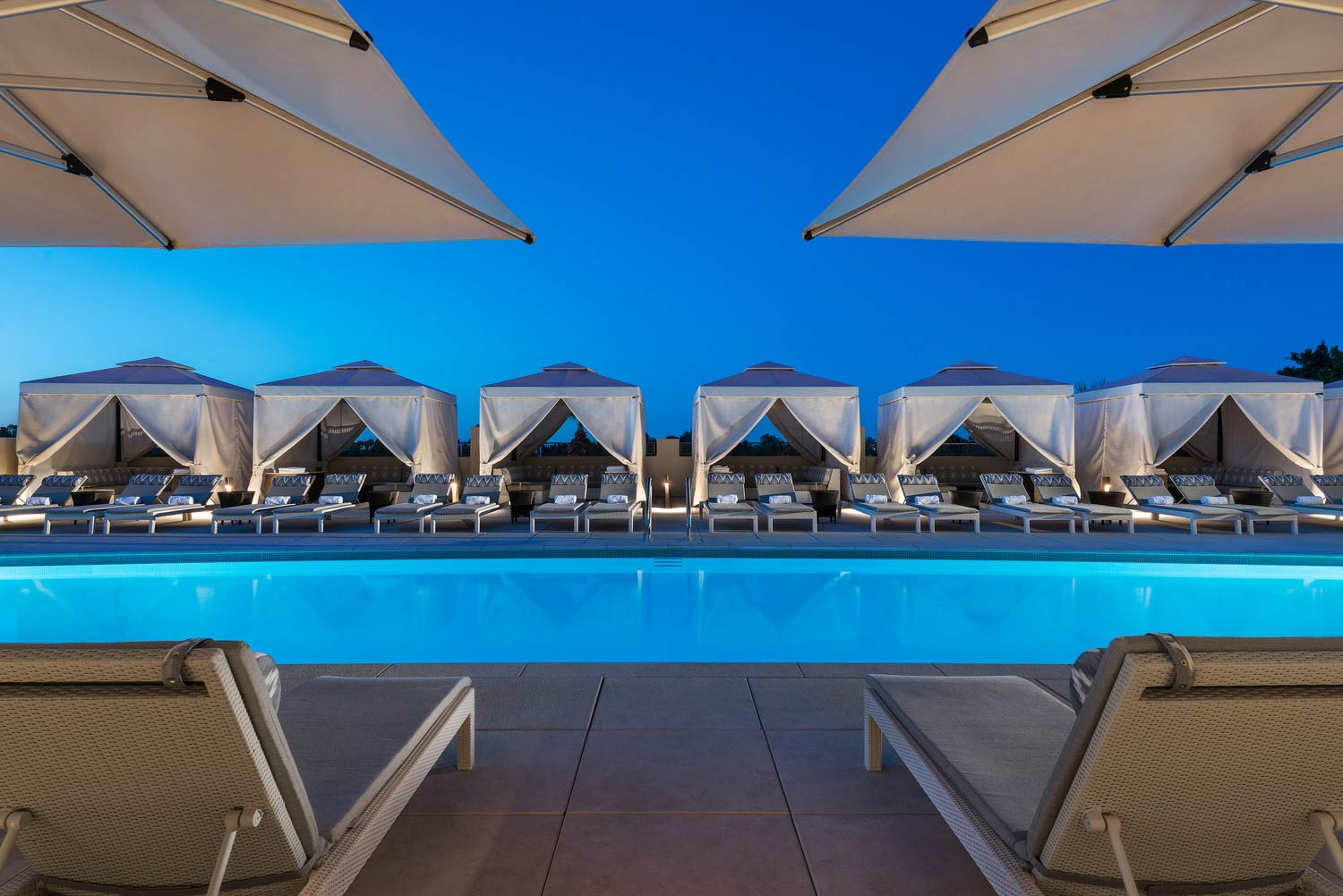 The Phoenician Rooftop Pool