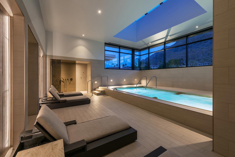 The Phoenician Spa Pool