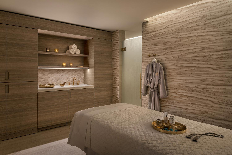 The Phoenician Spa Treatment Room