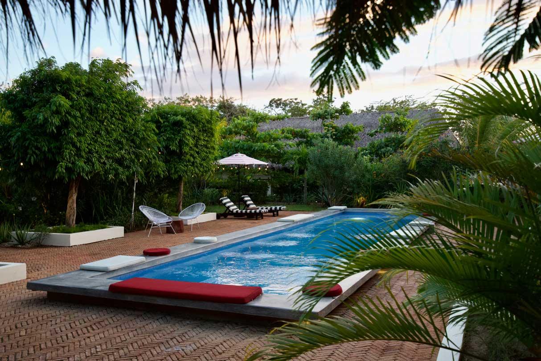 Malibu Popoyo Pool in Nicaragua