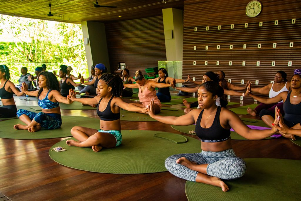 Female-Owned OMNoire retreat Yoga