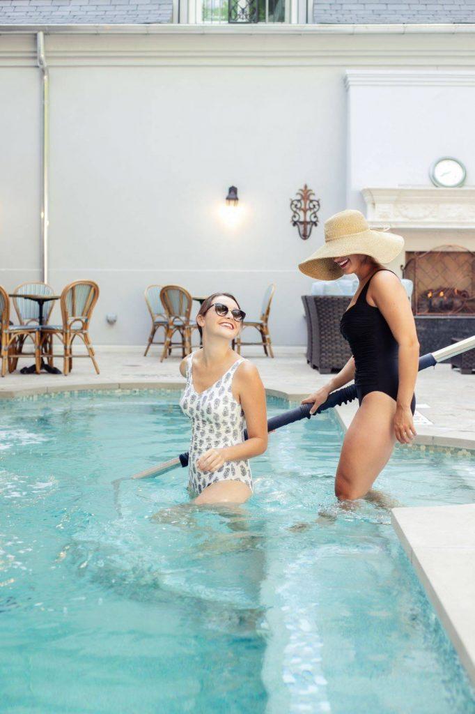 Mirbeau Plymouth pool