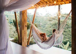 wellness vacation getaway hammock