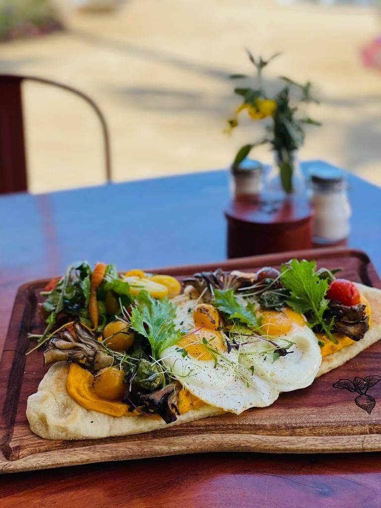 El Huerto Los Cabos breakfast menu