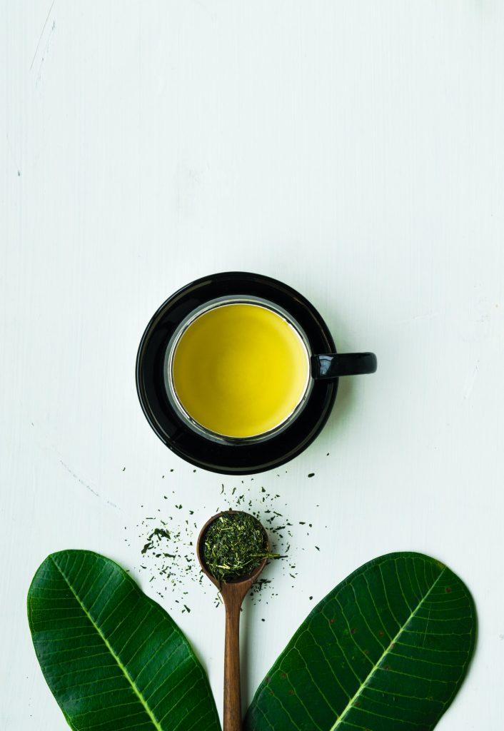 Brain-boosting green tea