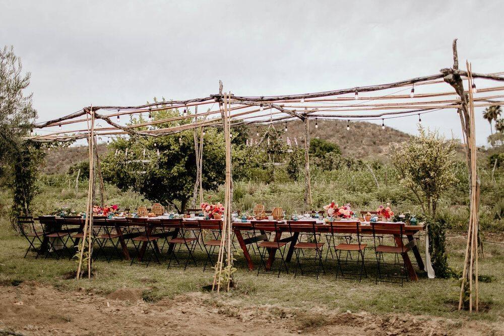 Los Tamarindos Los Cabos outdoor dining