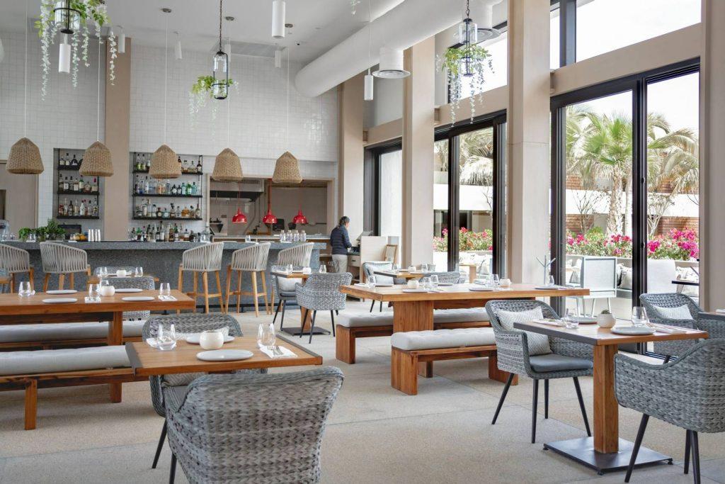 Malibu Farm Los Cabos indoor dining