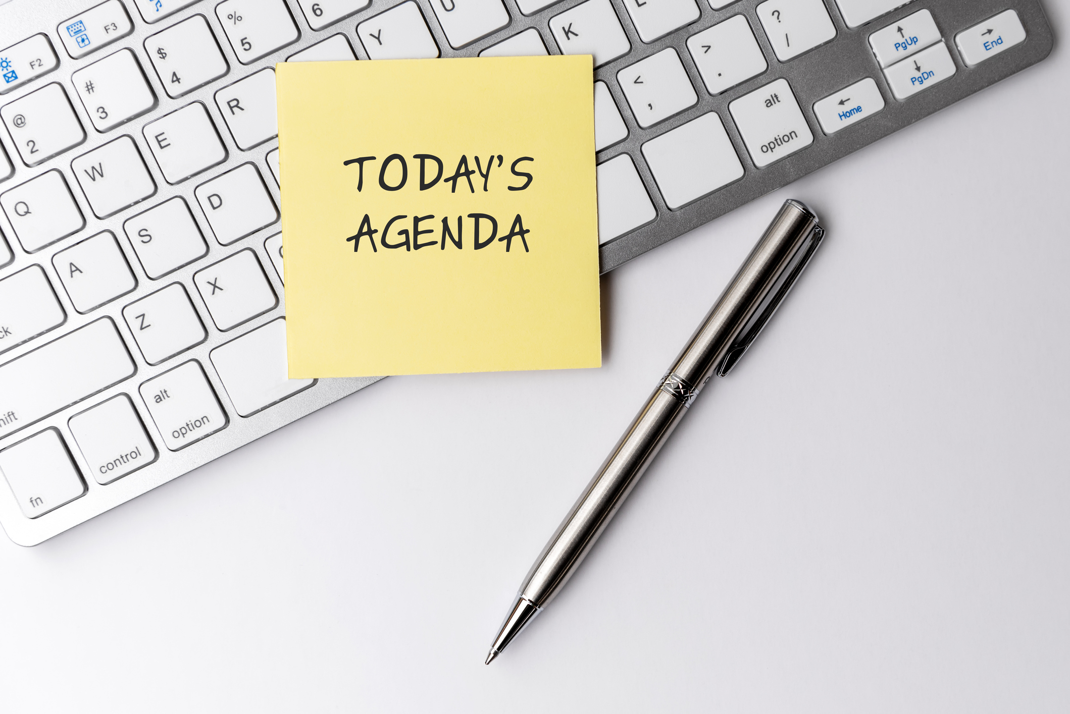 Make a schedule to work productively