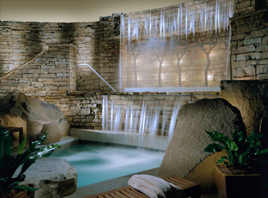 Hydro Massage at the spa at The Lodge at Woodloch